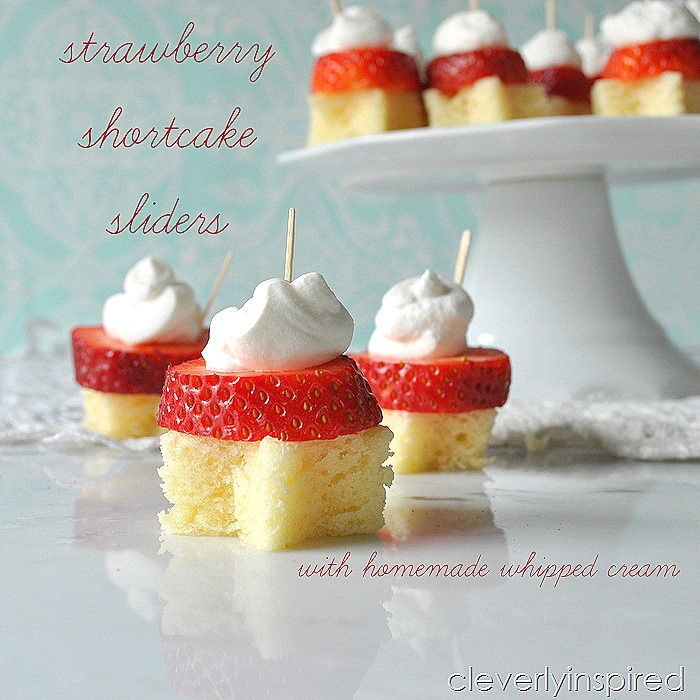 strawberry shortcake sliders @cleverlyinspired (2)
