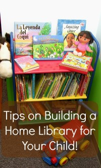 Tips on Building a Home Library for Your Child!