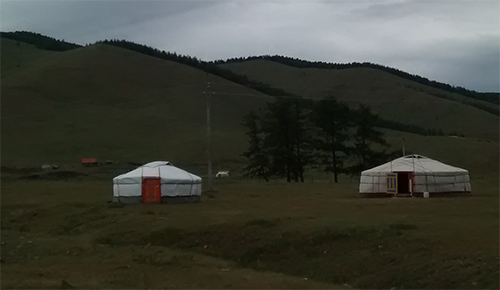 Darkhid Valley in Mongolia, where the author stayed with a nomad family