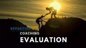 coaching evaluierung