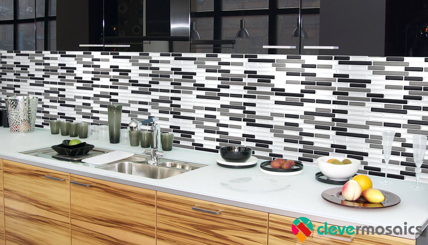 2018 Home Decor Trends Peel and Stick Tile Backsplash