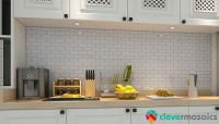 Peel and Stick Tile Backsplash for Kitchen Wall Mosaic