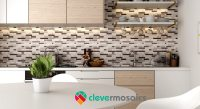 Subway Tile Kitchen Backsplash 3D Stick on Wall Mosaics ...