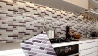 Peel and Stick Tile Backsplash for Kitchen Wall Mosaic ...