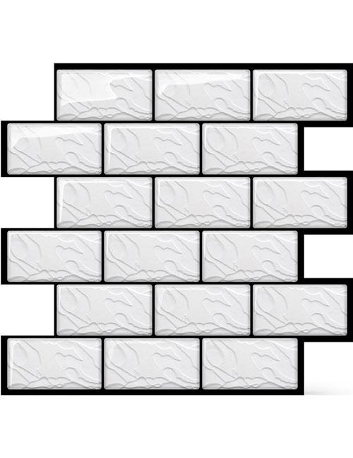 faux subway tile sheet