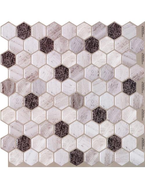 marble hexagon tile cm80305