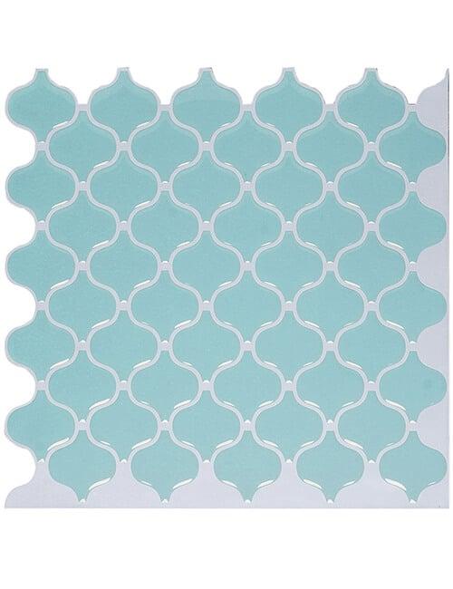 peel stick light green mosaic tile cm80504a 6pcs pack