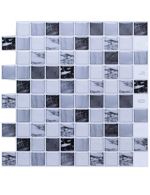 self-adhesive luxury marble slab backsplash