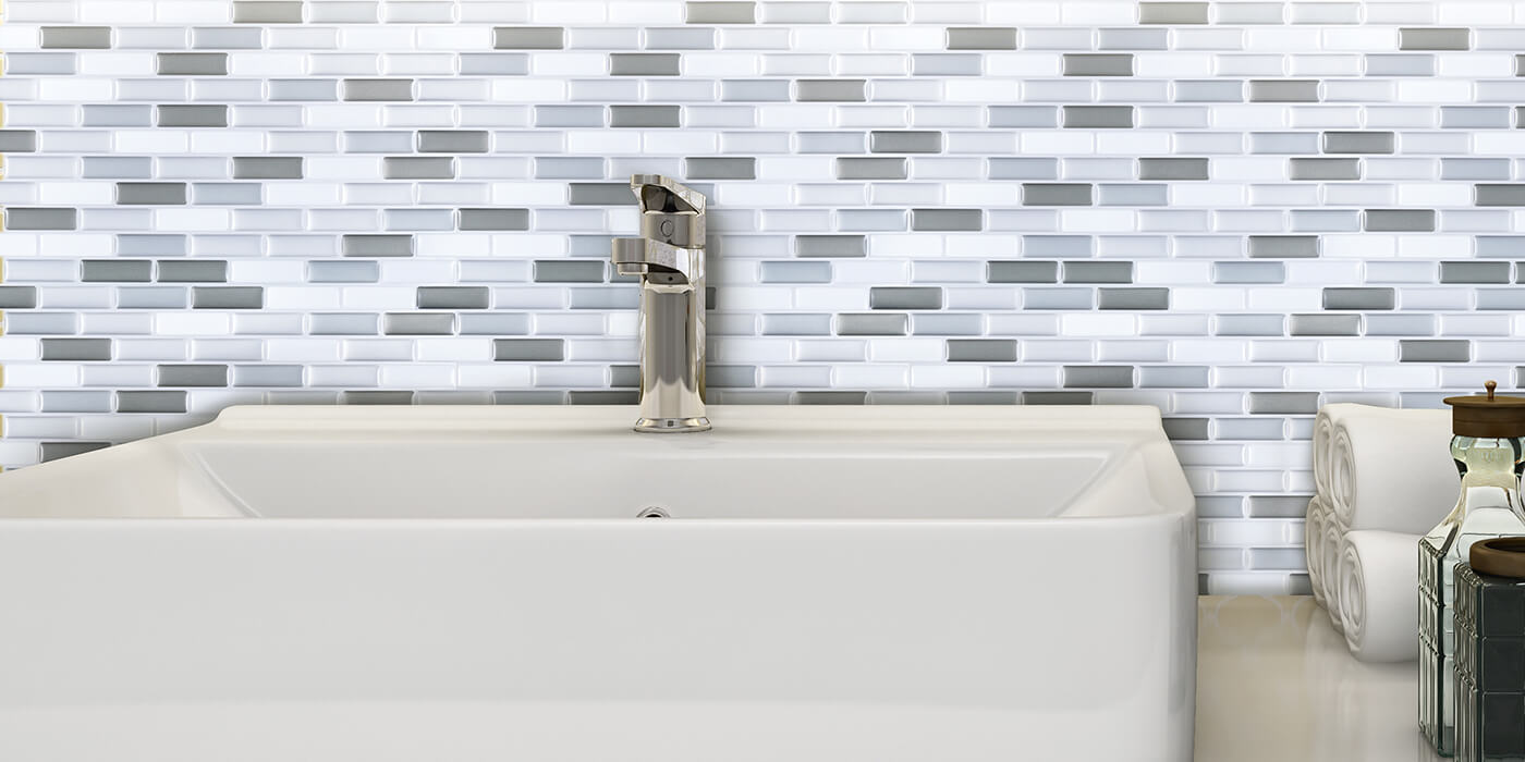 Smart And Cheap Bathroom Backsplash Ideas Clever Mosaics