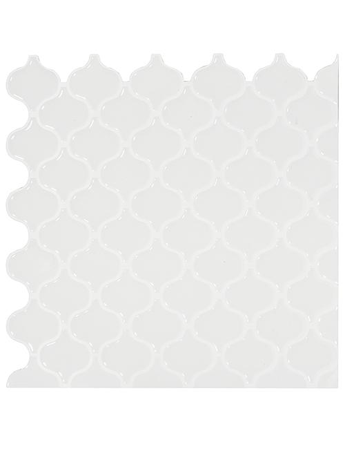 peel and stick white lantern tile backsplash cm80504e 6pcs pack