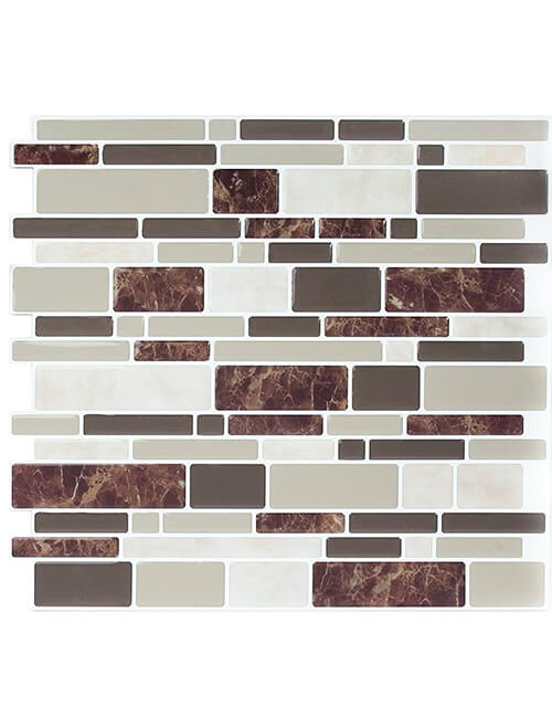 self-adhesive backsplash tile