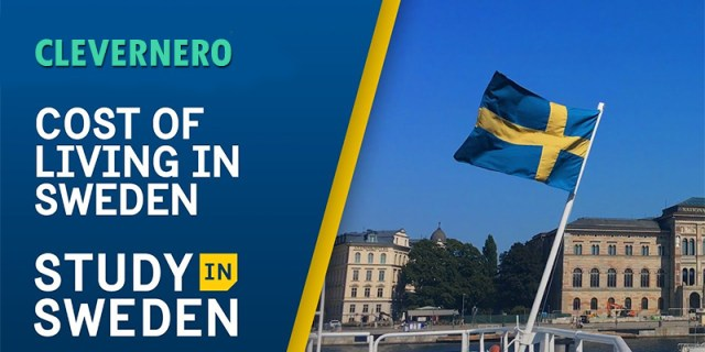 Cost of Living in Sweden for International Students