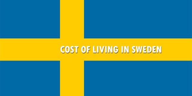 Cost of Living in Sweden