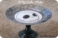DIY Cake Plate Stand ~ Perfect for Parties!