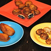 Sweet Deep Fried Treats...How to Deep Fry Oreos, Twinkies and Snickers Bars