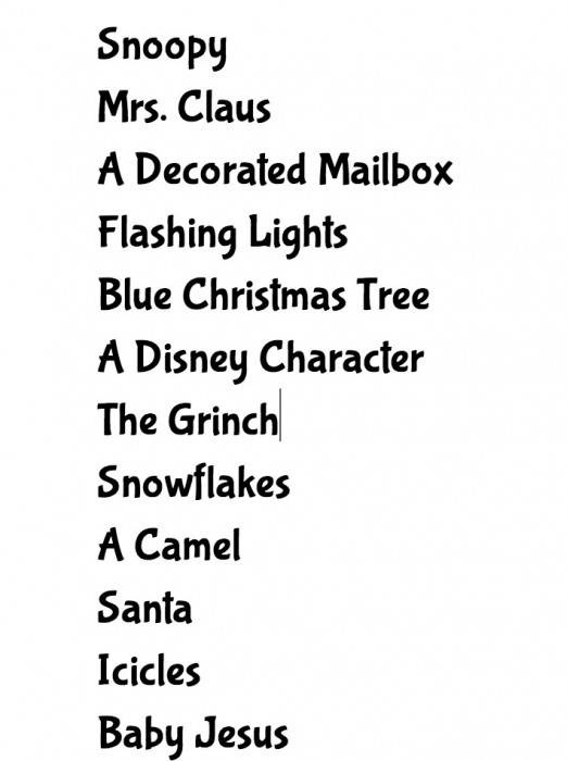 Holiday Activity Advent ~ Countdown to Christmas 2013