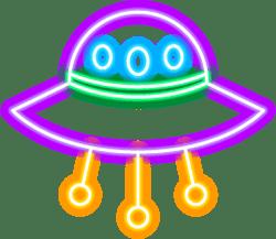 Neon Spaceship