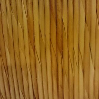 Wicker / straw seat