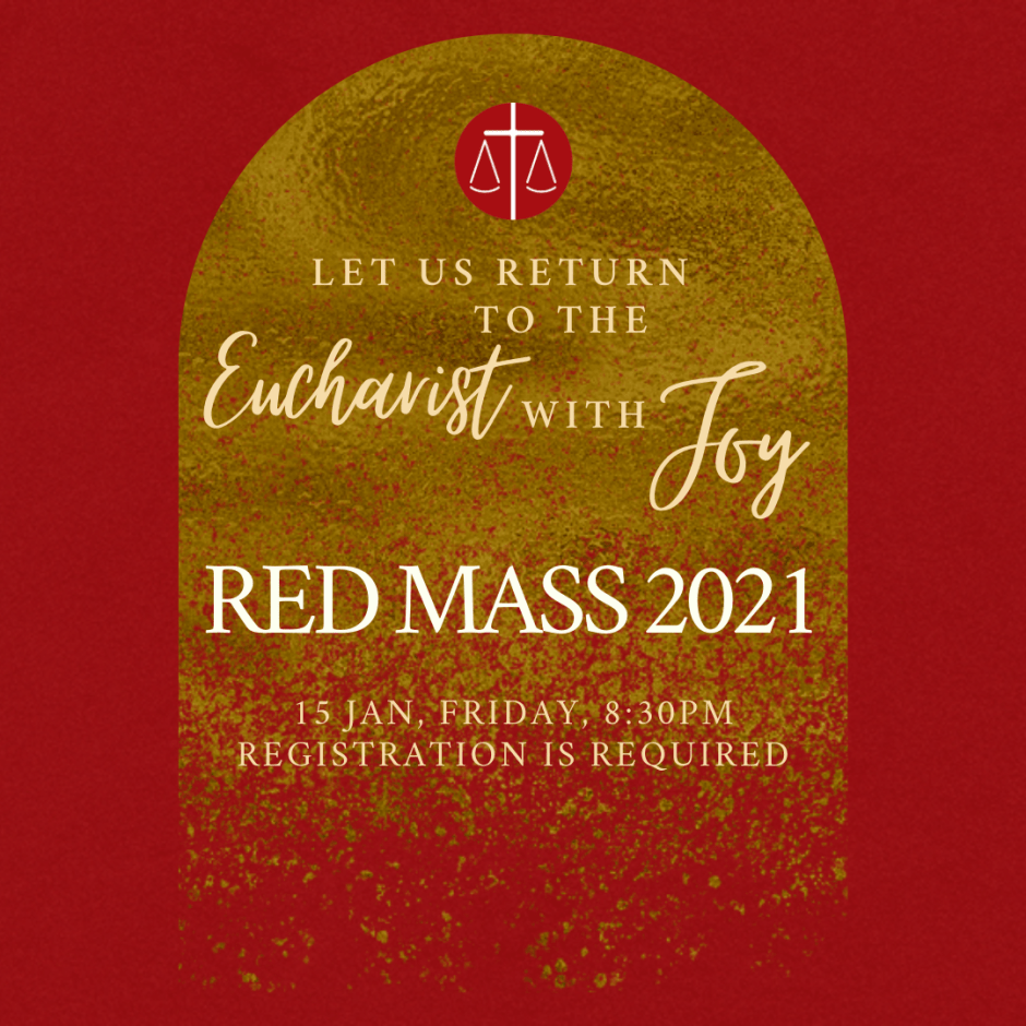 RSVP for Red Mass 2021