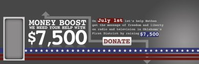 Oklahoma: Help Elect Nathan Dahm by Donating on July 1st