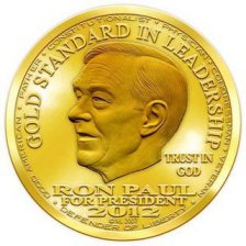 Ron Paul the Gold Standard of Presidential Politics at Reagan Dinner in Iowa on Nov 4th