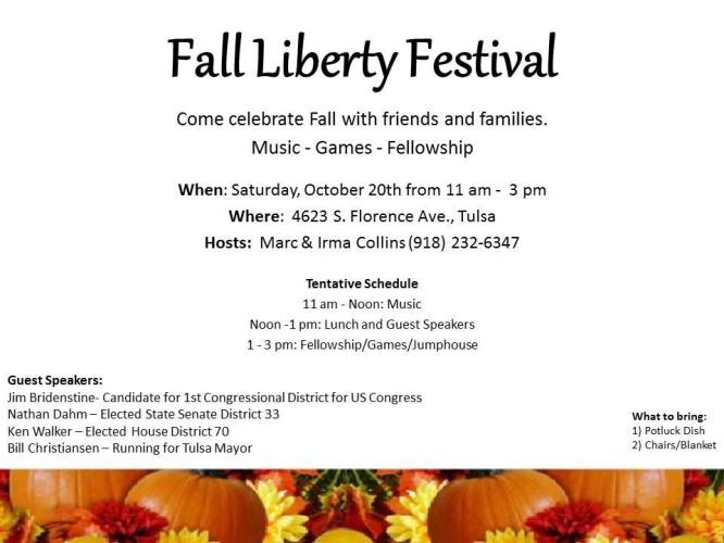 Fall Liberty Festival
