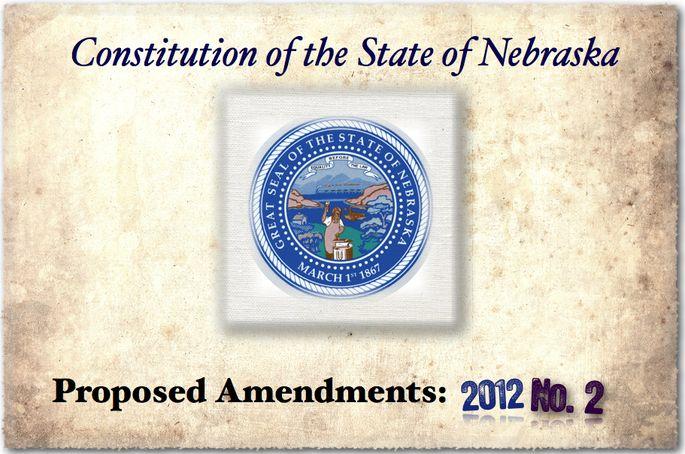 NE Amendment No. 2: So Country Folks Can Survive