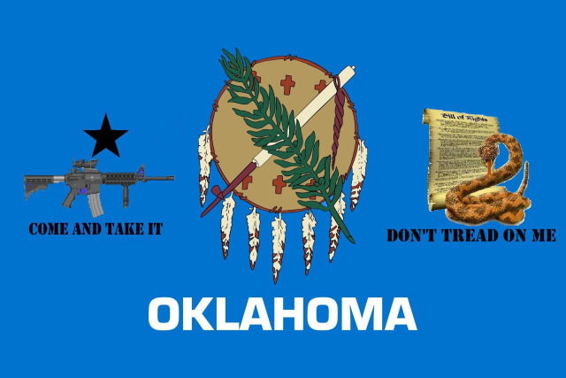 Oklahoma Flag Plus!