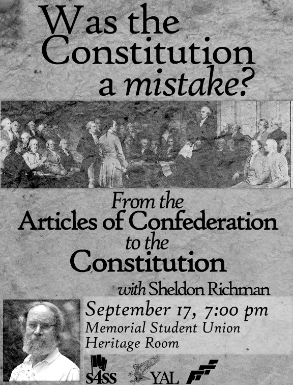 YAL Constitution Day Event