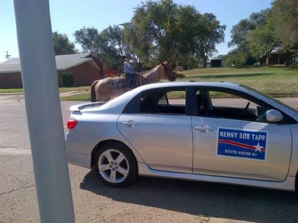 Tapps on Parade in Beaver County Oklahoma