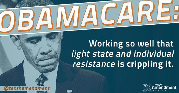 More state and local pushback on Obamacare will break it