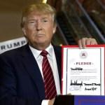 RNC loyalty oath - Trump