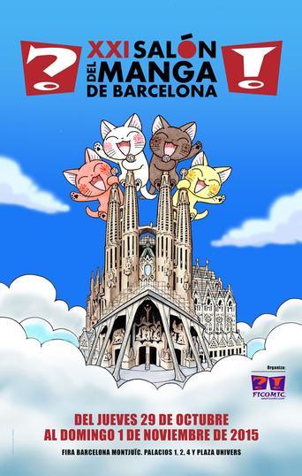 ClicAsia estará en el Salón del Manga 2015 en Barcelona