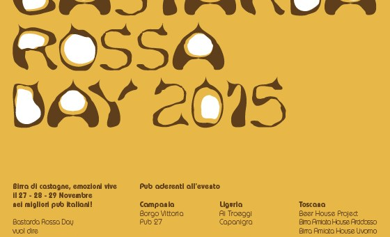 Bastarda Rossa Day 2015 Flyer