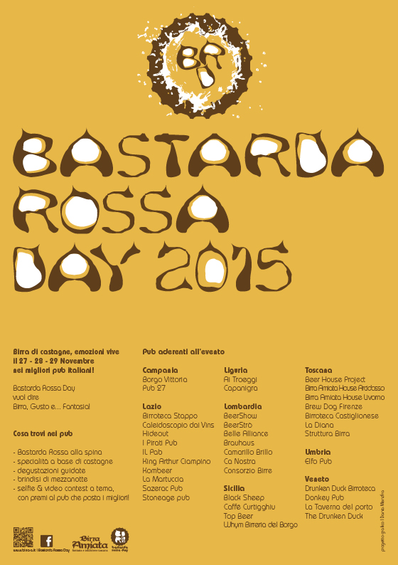 Bastarda Rossa Day 2015 Flyer