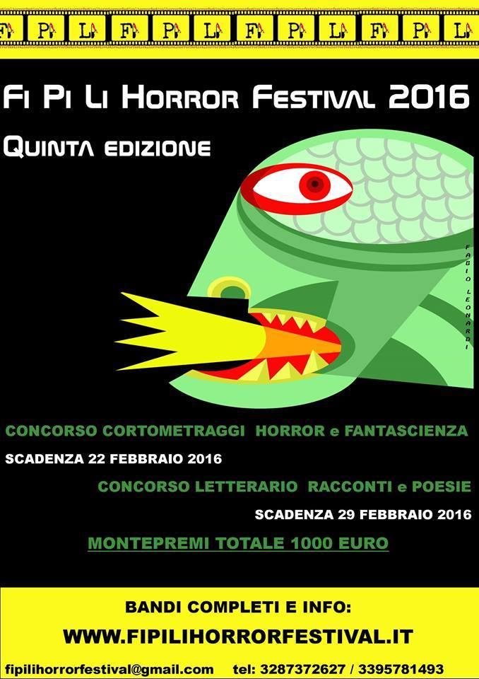 FI PI LI Horror Festival 2016 CliccaLivorno