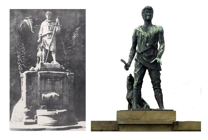 Statua del Villano CliccaLivorno