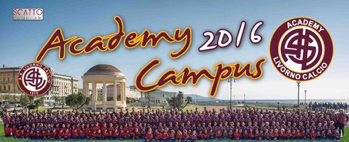 Campus estivi 2016 Academy Livorno Calcio CliccaLivorno