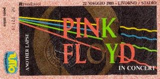 Pink Floyd biglietto Livorno CliccaLivorno