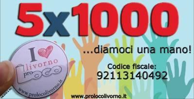 5x1000 - CliccaLivorno