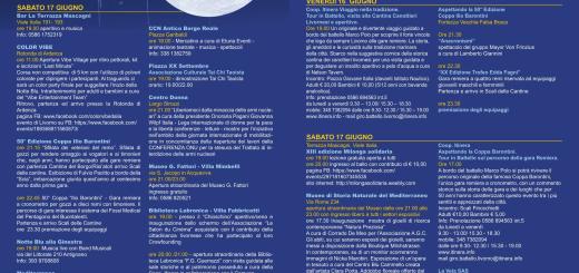la notte blu volantino 2017 CliccaLivorno