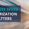 why site speed matters