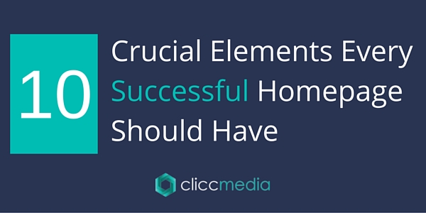 10 crucial homepage elements