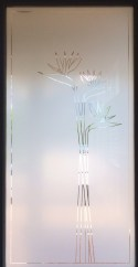 Front Door Frosted Glass Design
