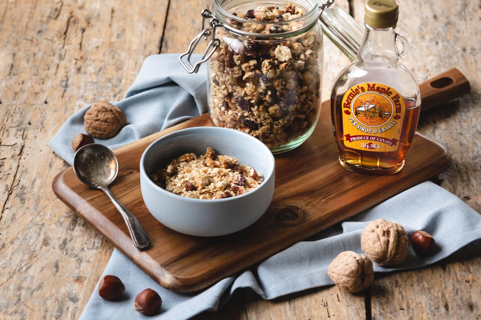 granola maison healthy-recette-petit dejeuner-brunch