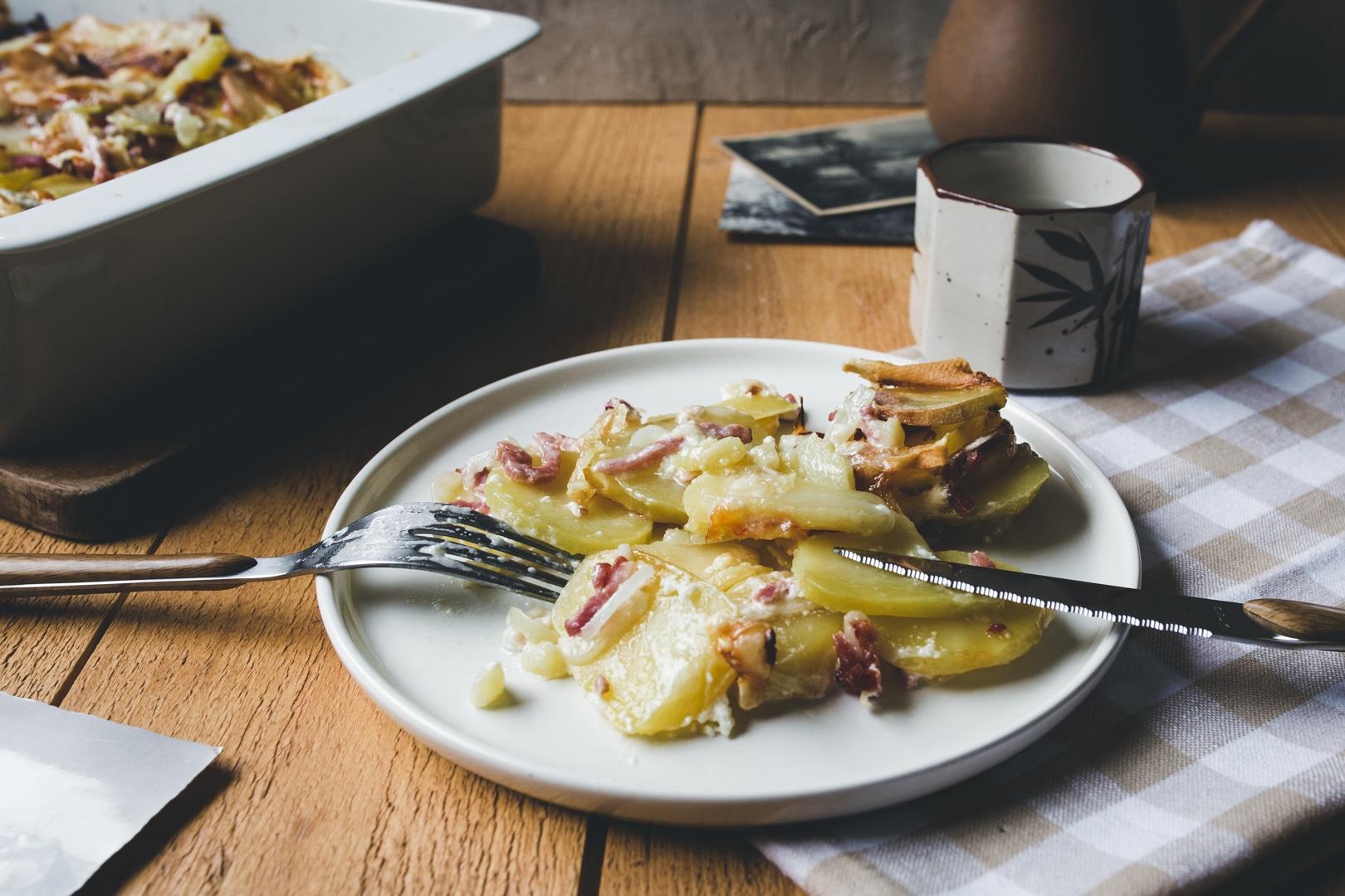 tartiflette maison-recette-plat hiver