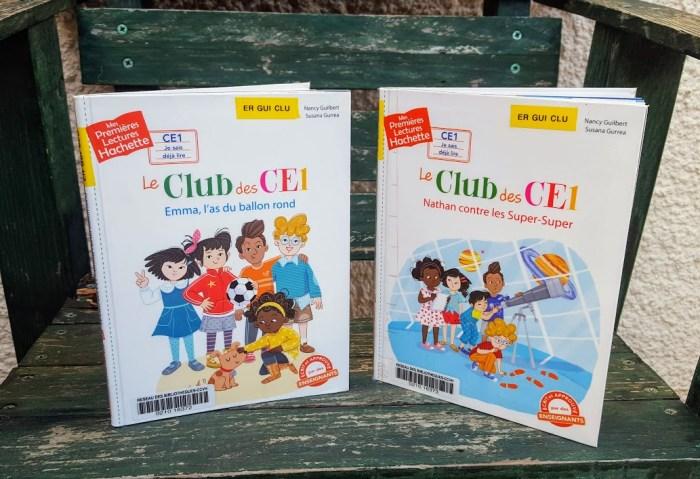 mes premières lectures hachette le club des CE1