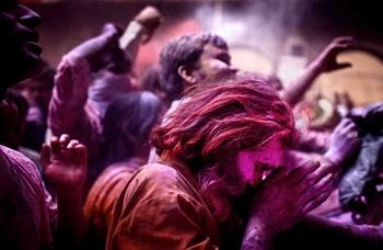 Holi Festival, India, por Klavs Bo Christensen