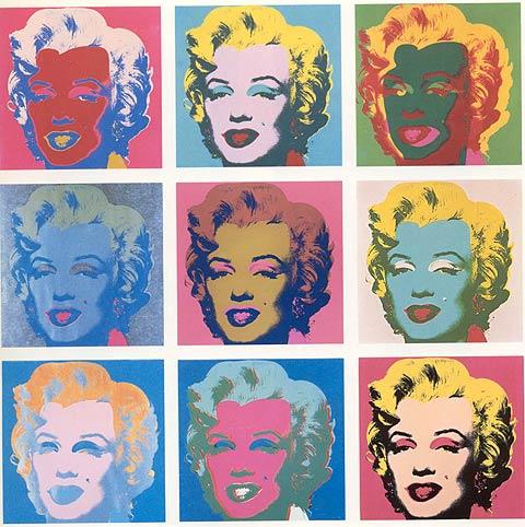 Marilyn, por Andy Warhol