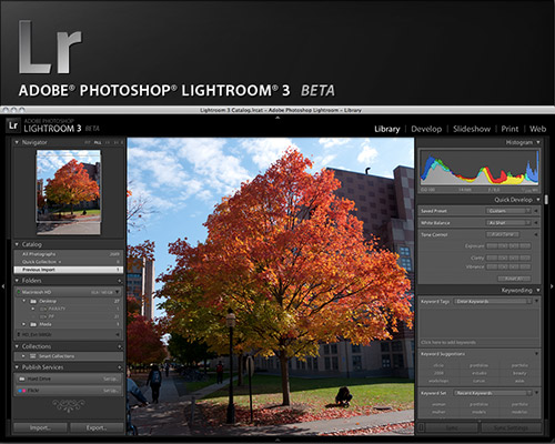 Adobe® Lightroom 3 Beta